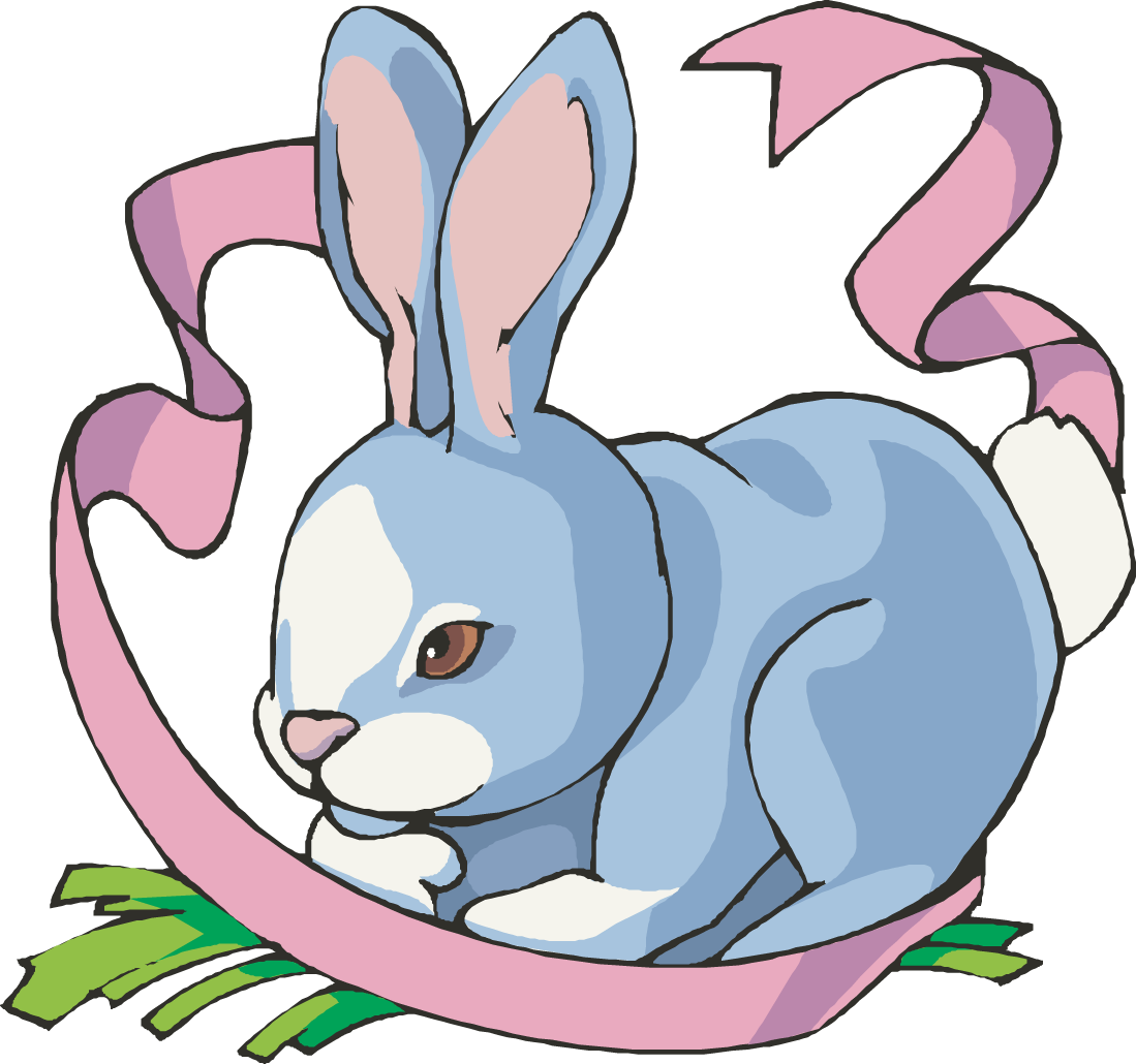 Cute colors clip art boy bunny clipart in format this 5.
