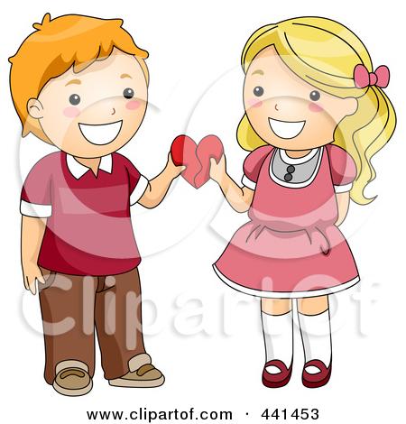 Clipart Cute Couple Love.