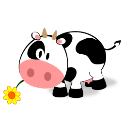 Cute Cow Clipart Free Png.