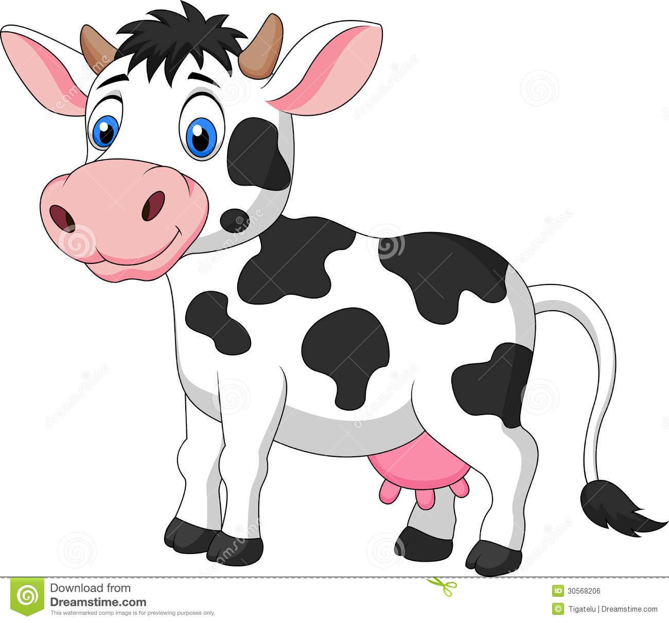 Cute Cow Clipart Free.