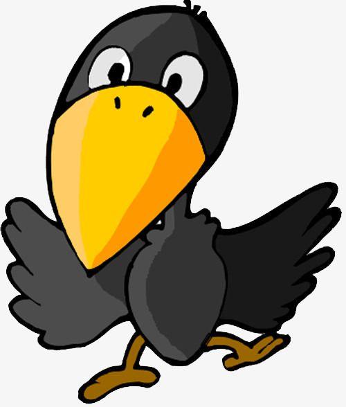 Cute Cartoon Raven +.