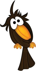 Cute crow clipart 2 » Clipart Station.