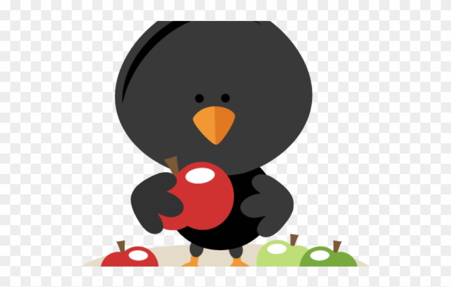 Crow Clipart Cute Baby.