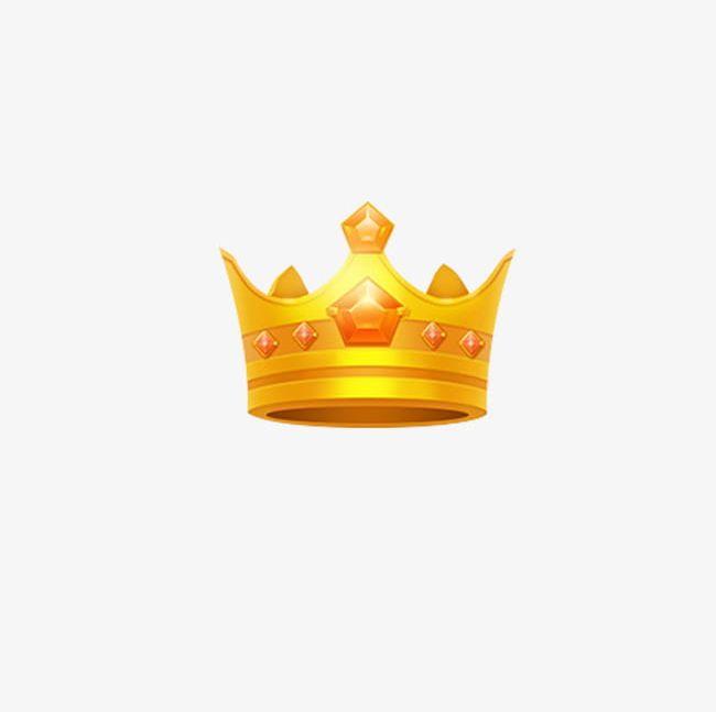 Gold Metal Glowing Crown PNG, Clipart, Cartoon, Cartoon Cute Crown.