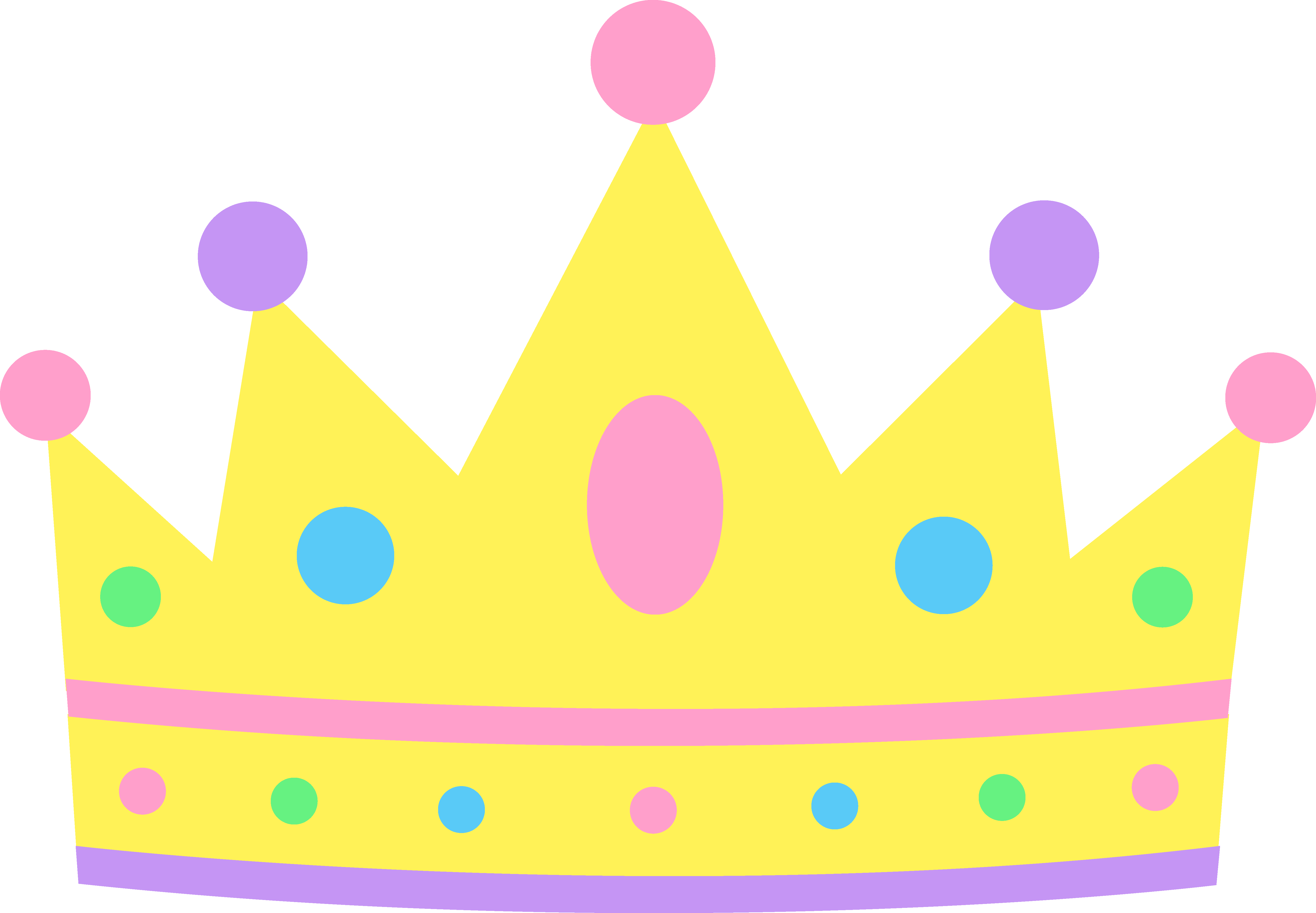 Cute Crown Clipart N.