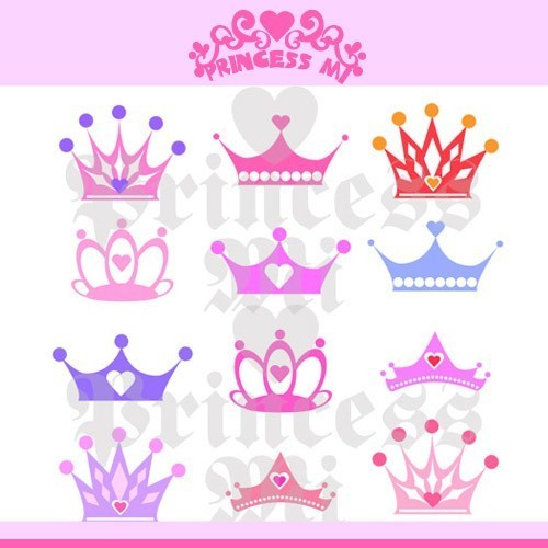 Cute Crown Clipart N.