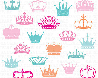 Cute Crown Clipart Girly.