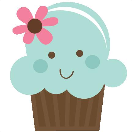 Cute Cupcakes Clipart.