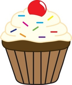 cute cupcakes clipart - Clipground