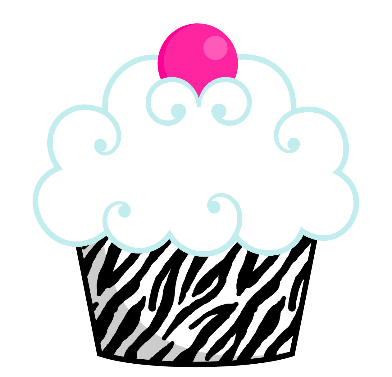 Cupcake Images Clipart.