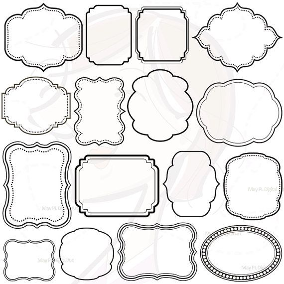 Cute Decorative Frame Clipart.