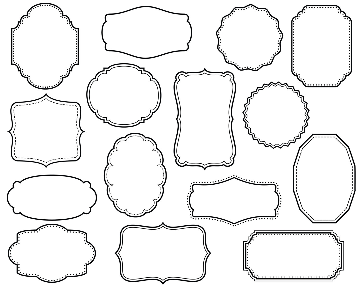 Decorative Frame Clipart.