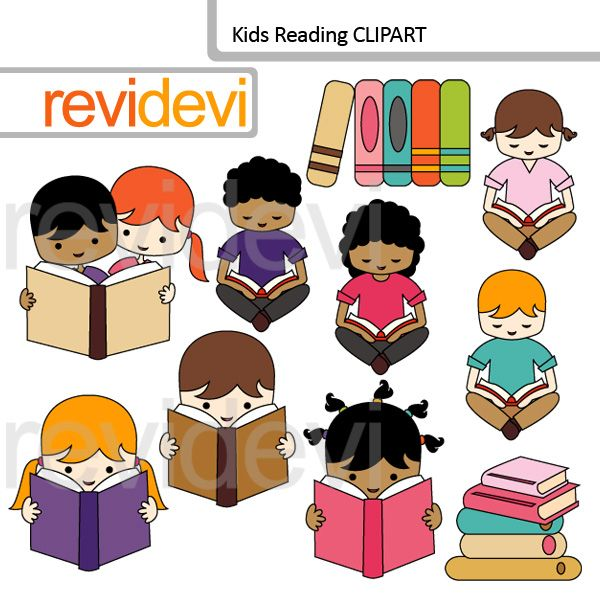 Cute Different Race Classroom Clipart.