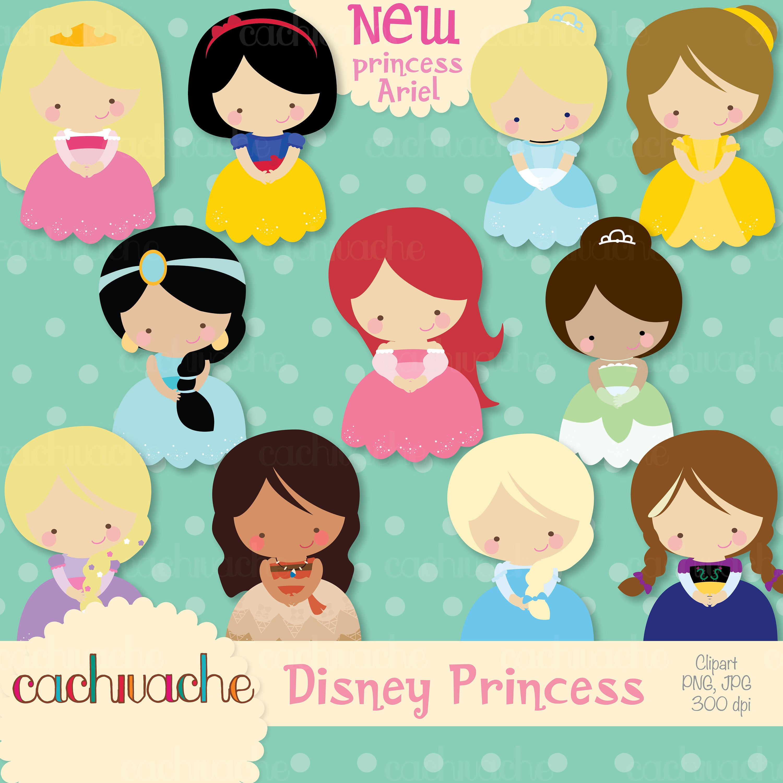Disney princess clipart.