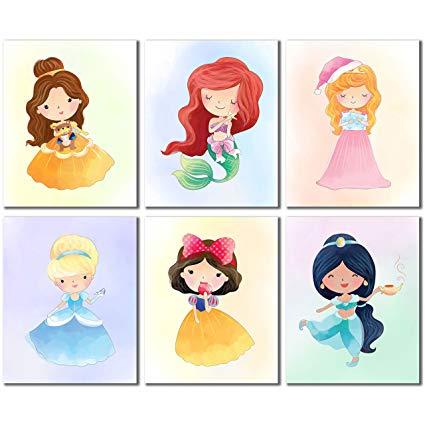 Disney Princess Kids Decor.