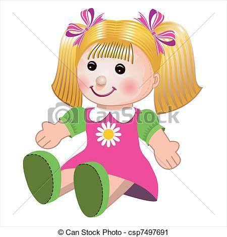 Cute doll clipart 2 » Clipart Portal.