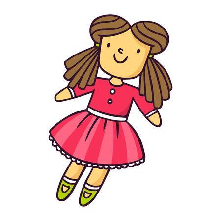 Cute doll clipart 4 » Clipart Portal.