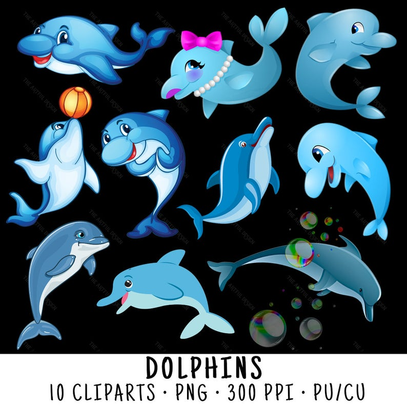 Dolphin Clipart, Dolphin Clip Art, Clipart Dolphin, Clip Art Dolphin,  Dolphin PNG, PNG Dolphin, Dolphins Clipart, Cute Dolphins.