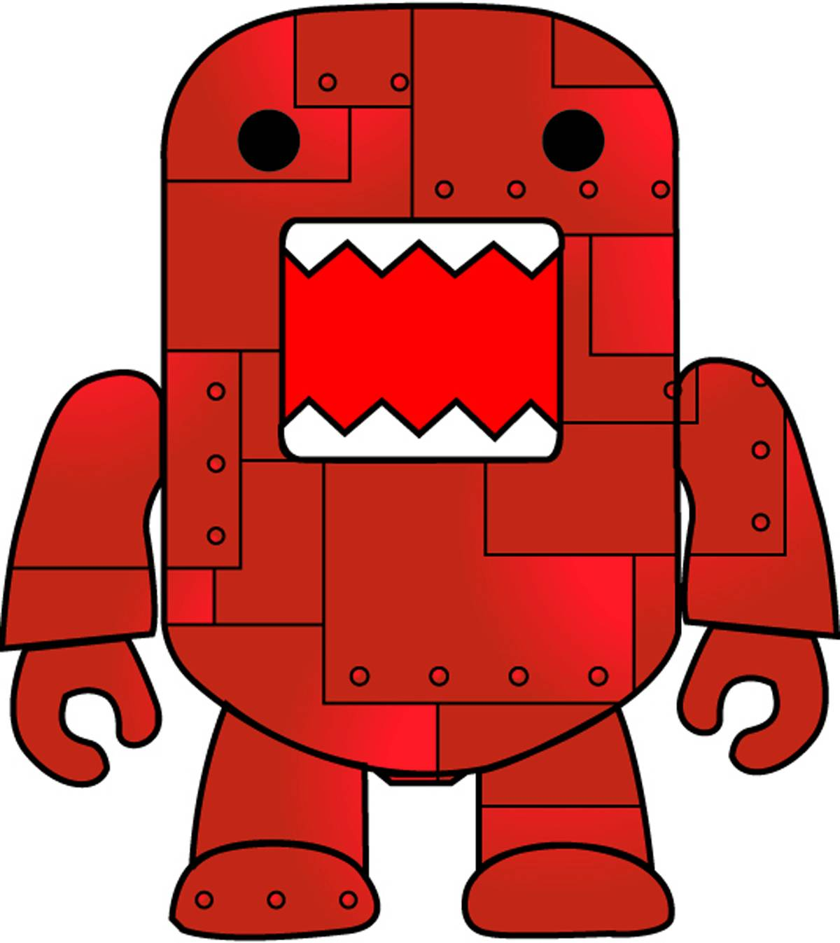 Gallery For > Cute Domo Clipart.