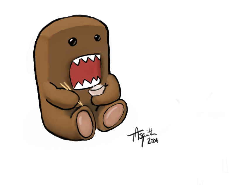 Showing post & media for Domo kun cartoon.