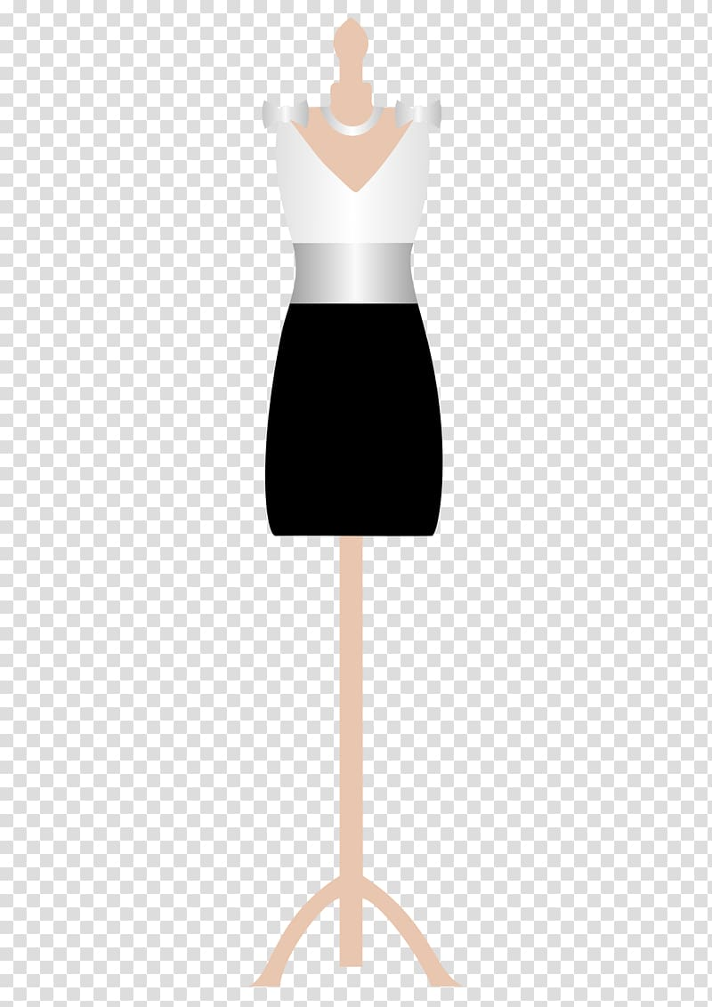 Mannequin Dress form , Cute Outfit transparent background.