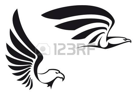 Cute Eagle Clipart Black And White Clipground