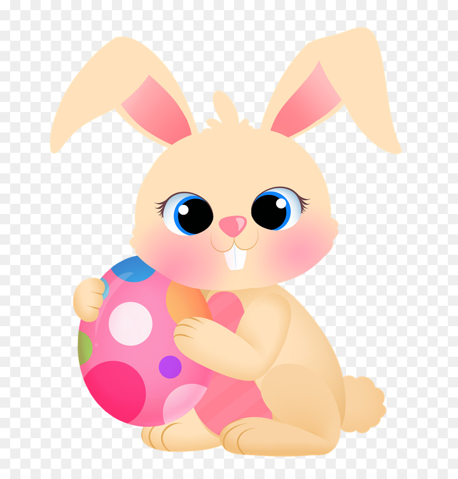 Easter Bunny Background png download.
