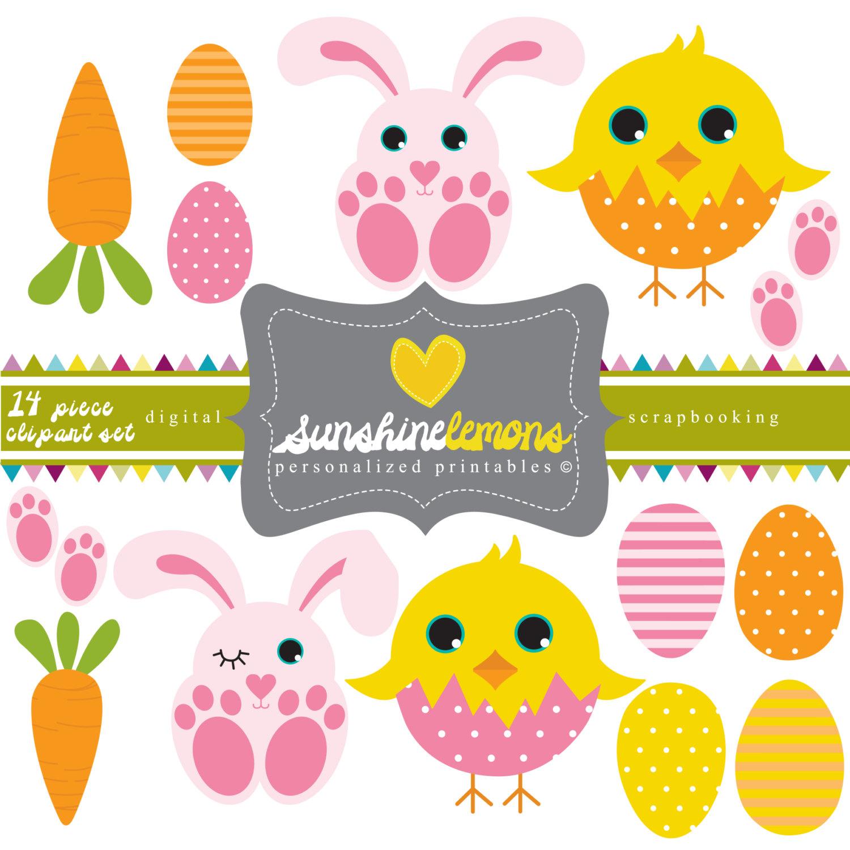 Cute Easter Clipart.
