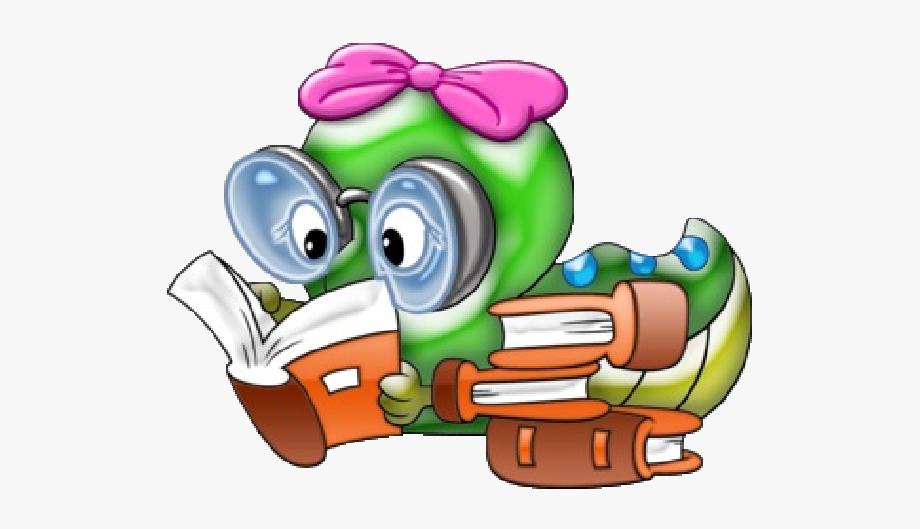 Bookworm Clipart Elementary Education.