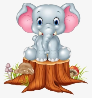 Cute Baby Elephant Cartoon Drawing at PaintingValley.com.