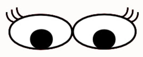 Cute Cartoon Eyes.