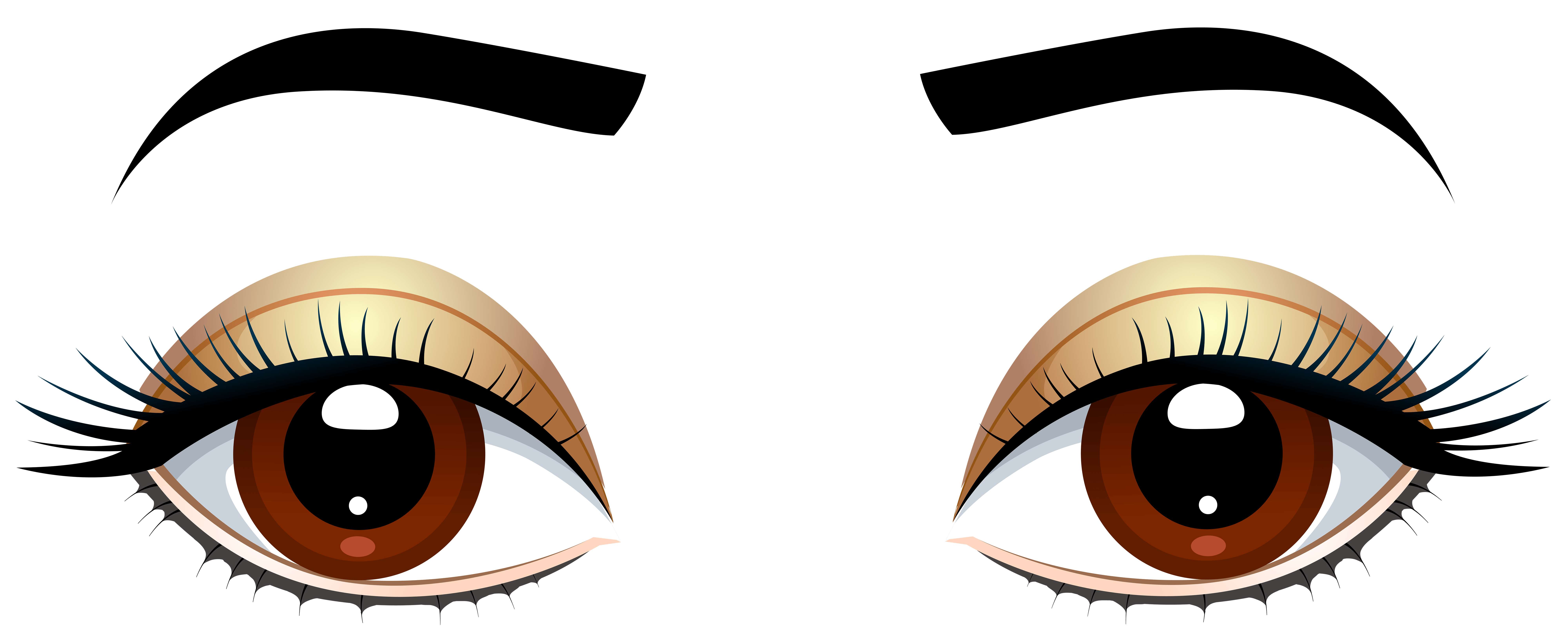 Eyes clipart cute, Eyes cute Transparent FREE for download on.