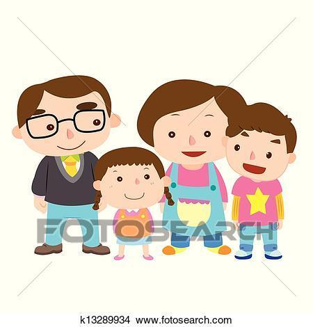 Cute family clipart 5 » Clipart Portal.