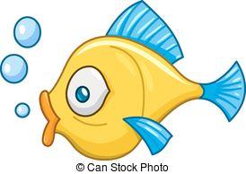 Vector Illustration of Cute fish.