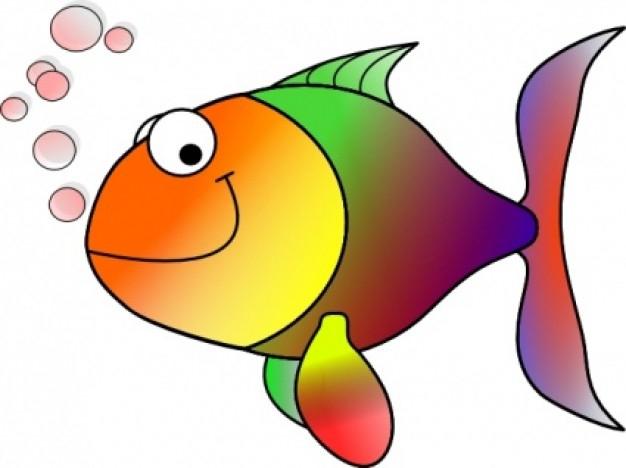 Fish Bubbles Clipart#2089296.