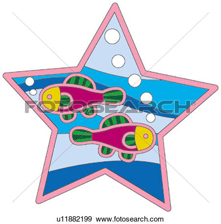 Stock Illustration of greeting card, illustration, bubbles, cute.