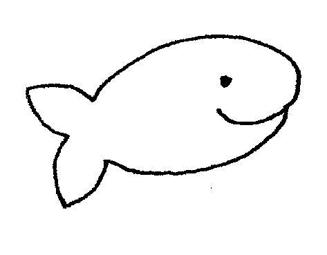 Cute Fish Clip Art Black And White.