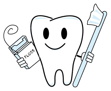 Showing post & media for Cartoon toothbrush and floss.