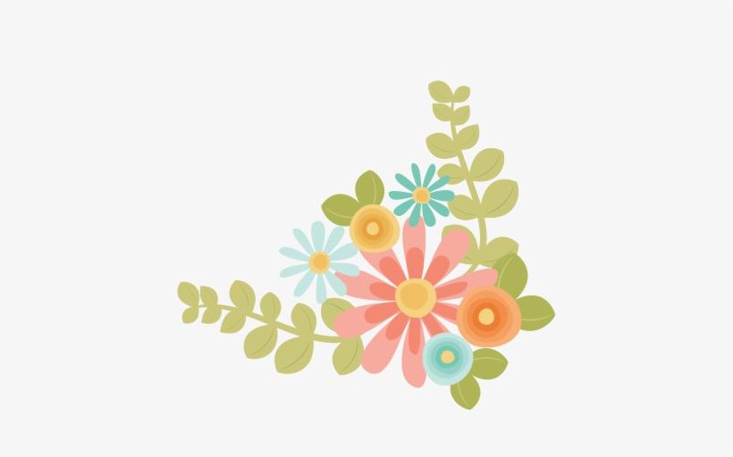 Flowers Svg Scrapbook Cut File Cute Clipart Files For.
