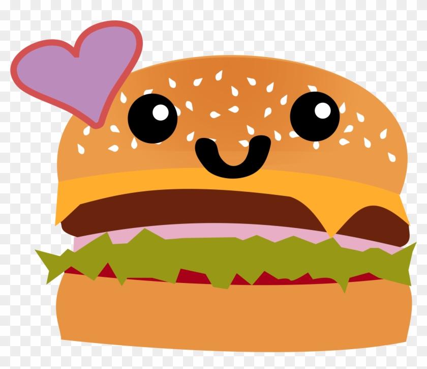 Hamburger Clipart Cute.