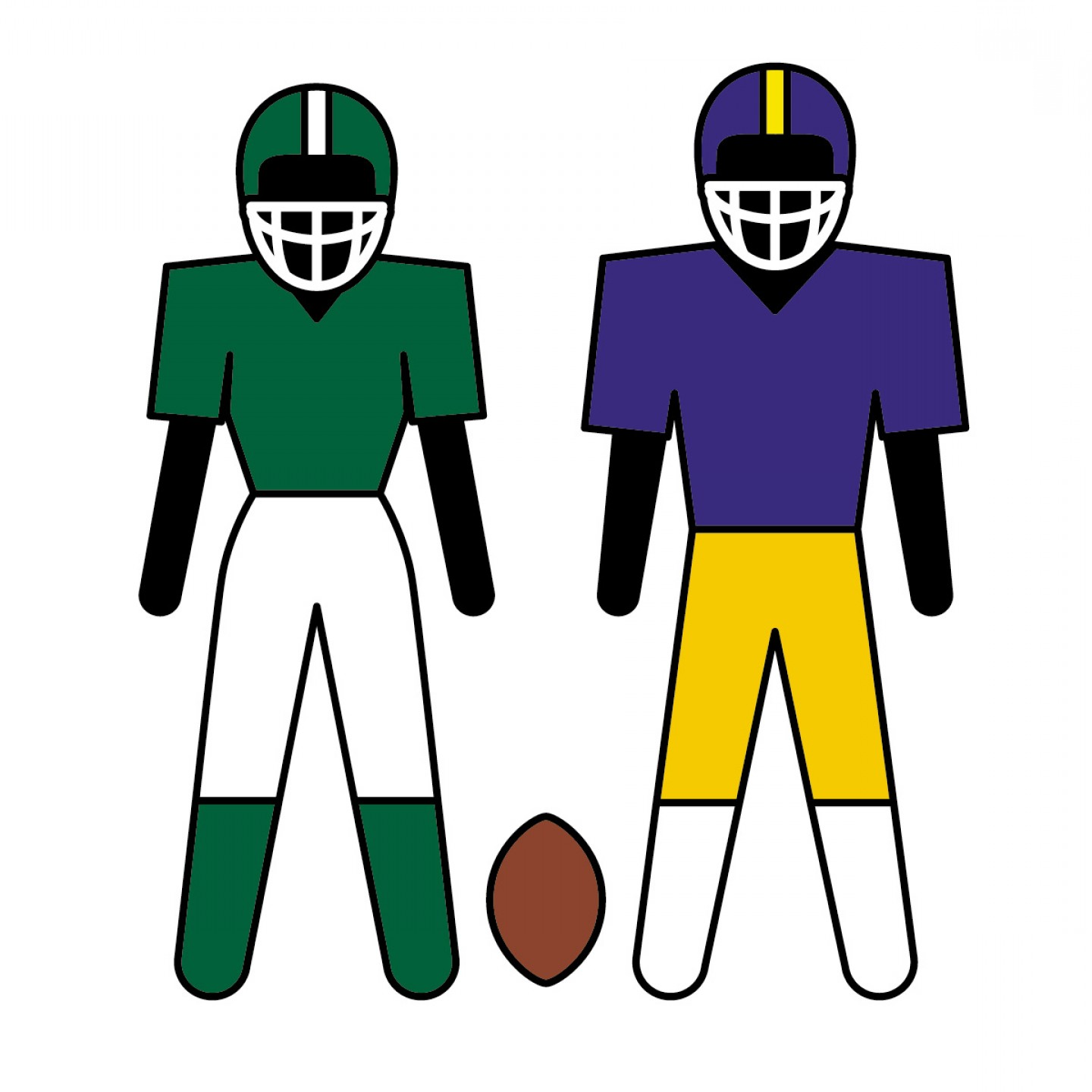 Best Free Animated Football Clipart Image.