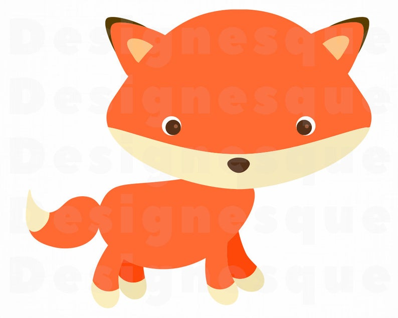 Cute Fox Svg, Fox Svg, Cute Fox Clipart, Cute Fox Files for Cricut, Cute  Fox Cut Files For Silhouette, Fox Dxf, Fox Png, Fox Eps, Fox Vector.