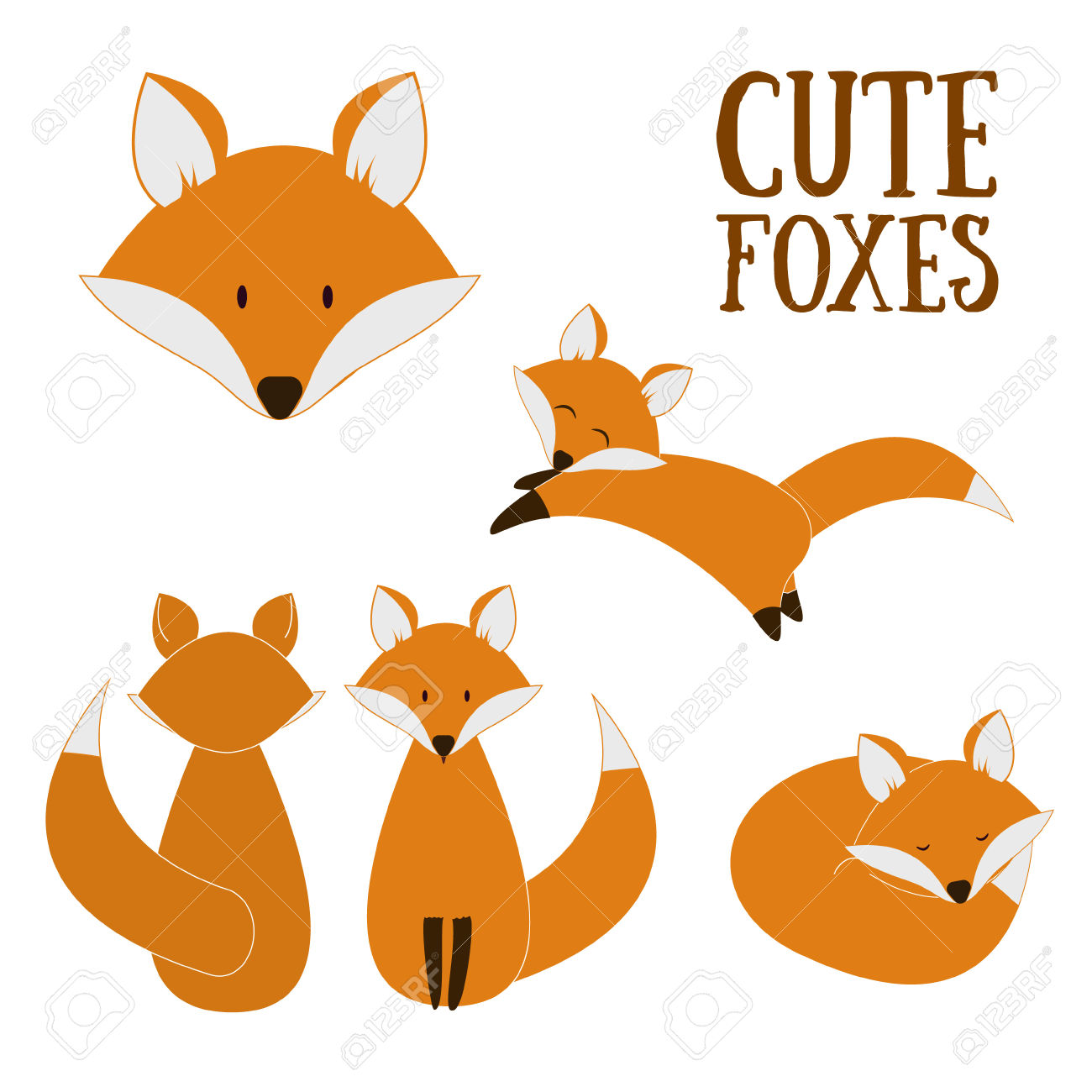 Showing post & media for Cartoon fox face sillouette.
