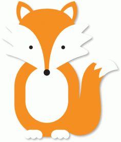 Simple Fox Face Clipart.