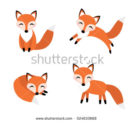 Fox Stock Images, Royalty.