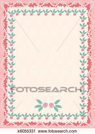 Cute frame Clipart.