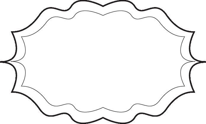 Fancy Black and White Frame.