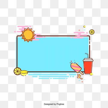 Cute Frame Png, Vector, PSD, and Clipart With Transparent Background.