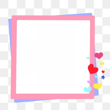 Cute Border Png, Vector, PSD, and Clipart With Transparent.
