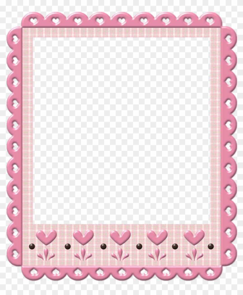 Frames Marrom Com Rosa Cute Frames, Frame Clipart,.
